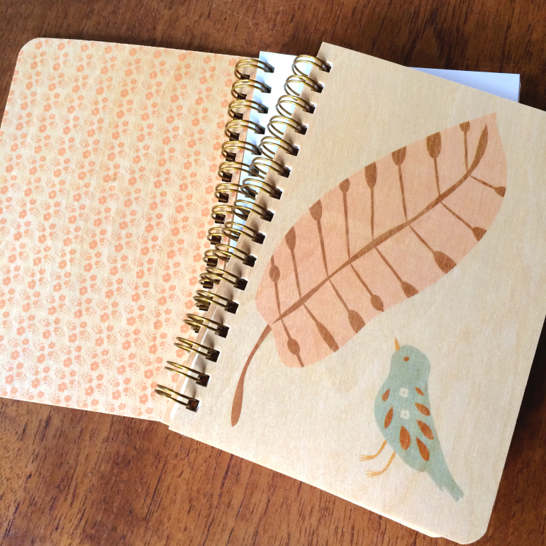 Notepad with ICF